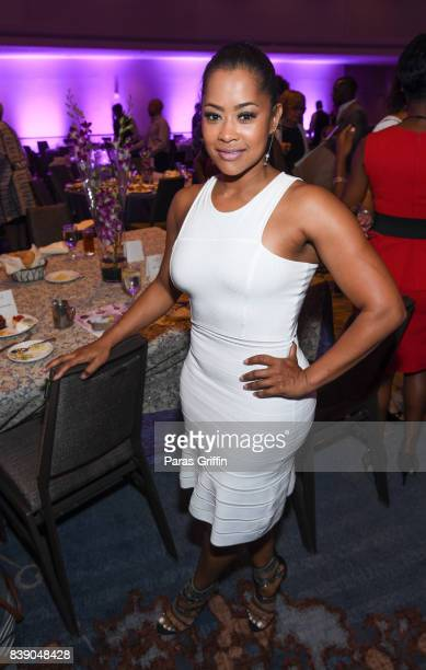 TV personality/actress Lisa Wu at 2017 BronzeLens Women SuperStars Luncheon at Westin Peachtree Plaza on August 25 2017 in Atlanta Georgia