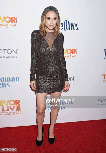 Personality/actress Shira Lazar attends the TrevorLIVE Los Angeles 2016 Fundraiser at the Beverly Hilton Hotel on December 04, 2016 in Beverly Hills,...