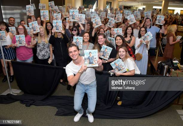 """Personality/author Antoni Porowski attends a signing event for his new book """"Antoni in the Kitchen"""" at Barnes & Noble at The Grove on September 21,..."""