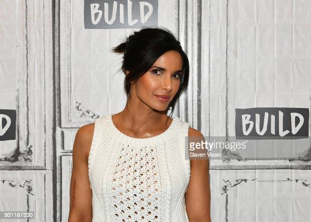 TV personality/author Padma Lakshmi visits Build Series to discuss her MAC Capsule Collection at Build Studio on March 12 2018 in New York City