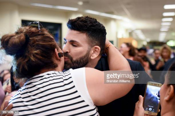 Personality/Beauty Expert Jomari Goyso greets fans and discusses his new book Desnudo at Barnes Noble at The Grove on July 12 2018 in Los Angeles...