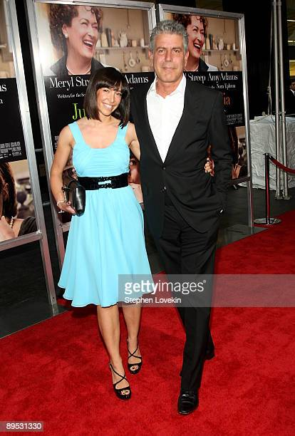 TV personality/chef Anthony Bourdain attends the 'Julie Julia' premiere at the Ziegfeld Theatre on July 30 2009 in New York City