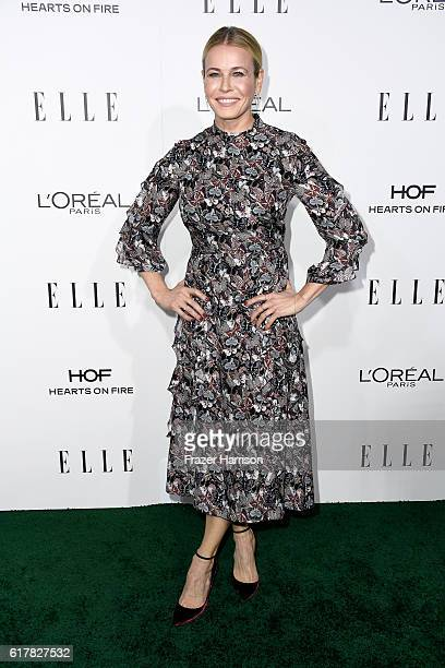 Personality/comedian Chelsea Handler attends the 23rd Annual ELLE Women In Hollywood Awards at Four Seasons Hotel Los Angeles at Beverly Hills on...
