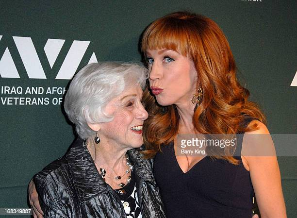 TV personality/comedienne Kathy Griffin and mother Maggie Griffin attend the Iraq And Afghanistan Veterans Of America's 5th Annual Heroes Celebration...