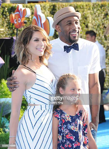 TV personality/dancer Allison Holker daughter Weslie Fowler and dancer/tv personality Stephen 'tWitch' Boss attend the world premiere of...