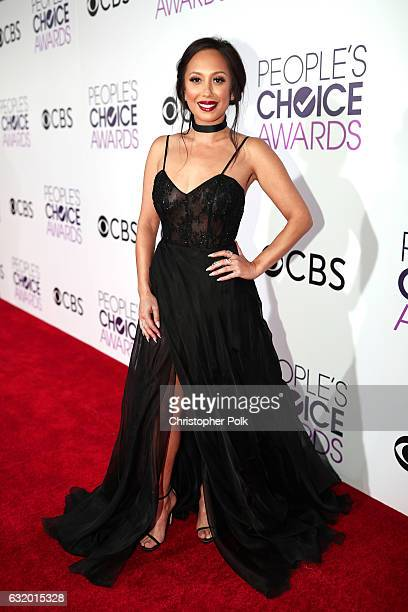 TV personality/dancer Cheryl Burke attends the People's Choice Awards 2017 at Microsoft Theater on January 18 2017 in Los Angeles California