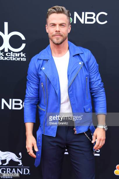 TV personalitydancer Derek Hough attends the 2018 Billboard Music Awards at MGM Grand Garden Arena on May 20 2018 in Las Vegas Nevada