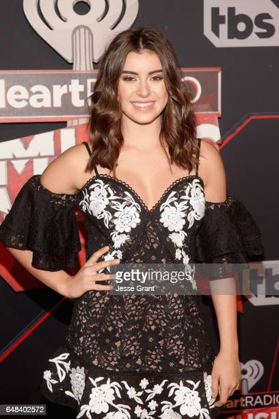 TV personalitydancer Kalani Hilliker attends the 2017 iHeartRadio Music Awards which broadcast live on Turner's TBS TNT and truTV at The Forum on...