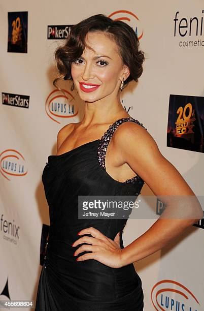 TV personality/dancer Karina Smirnoff attends the Stars Get Lucky For Lupus 6th Annual Poker Tournament at Avalon on September 18 2014 in Hollywood...