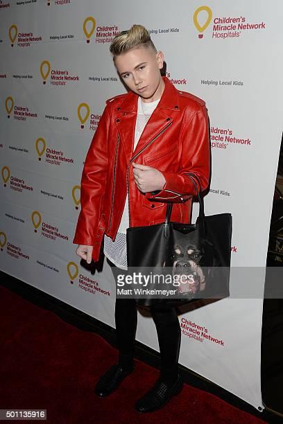 TV personality/designer Matt Sarafa arrives at Children's Miracle Network Hospitals' Winter Wonderland Ball at Avalon on December 12 2015 in...