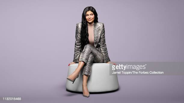 TV personality/entrepreneur Kylie Jenner is photographed for Forbes Magazine on March 6 2019 in New York City PUBLISHED IMAGE CREDIT MUST READ Jamel...