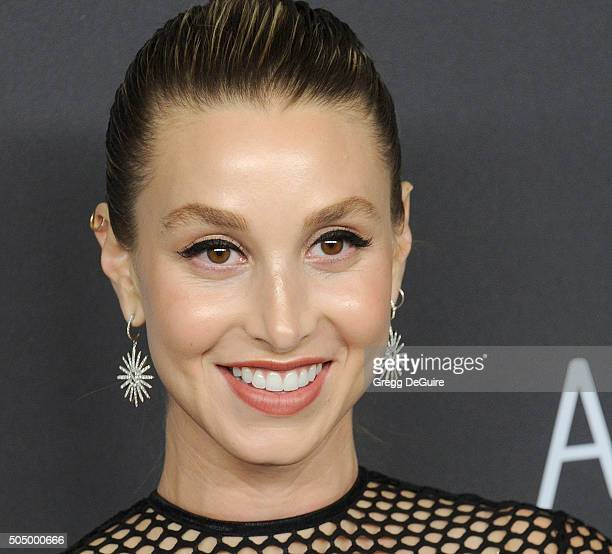 TV personality/fashion designer Whitney Port arrives at the 2016 InStyle And Warner Bros 73rd Annual Golden Globe Awards PostParty at The Beverly...