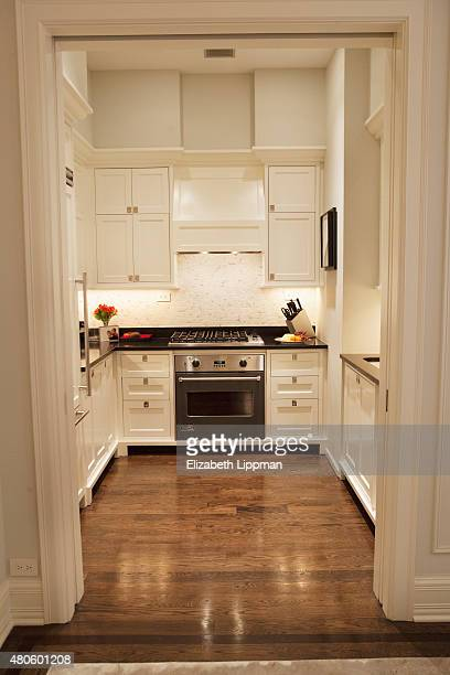 TV personality/finance adviser Suze Orman's apartment is photographed for Wall Street Journal on October 30 2014 at home in her Plaza apartment in...