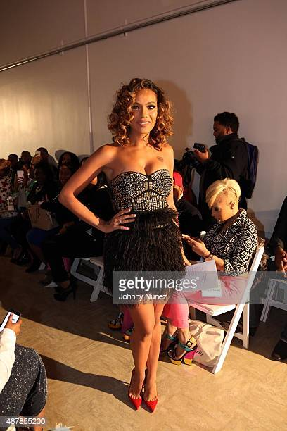 TV personality/host Erica Mena walks the runway at Underground Artistry Presents The 2nd Annual Fashion Show Showcase at Punta Space on March 27 in...