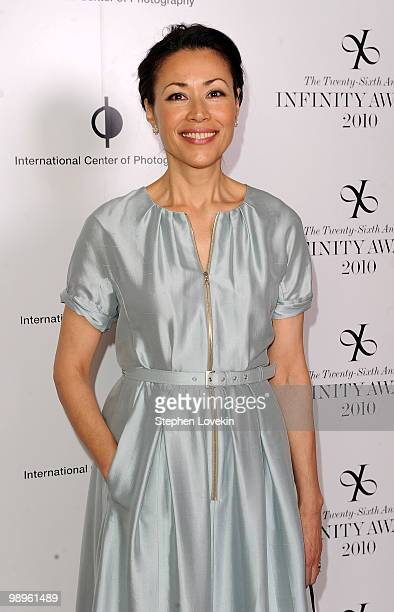 TV personality/journalist Ann Curry attends the 26th annual International Center of Photography Infinity Awards at Pier Sixty at Chelsea Piers on May...