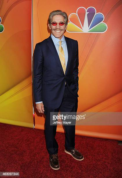 TV personality/journalist Geraldo Rivera attends the NBCUniversal 2015 Press Tour at the Langham Huntington Hotel on January 16 2015 in Pasadena...