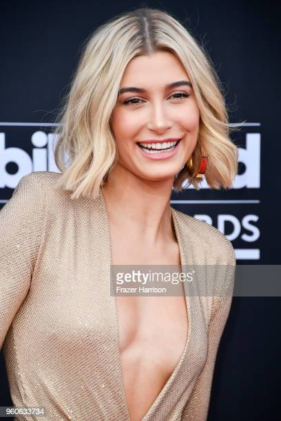 TV personalitymodel Hailey Baldwin attends the 2018 Billboard Music Awards at MGM Grand Garden Arena on May 20 2018 in Las Vegas Nevada