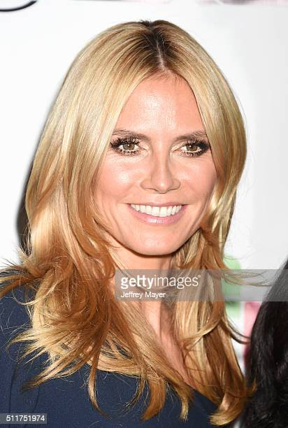 TV personality/model Heidi Klum attends the 2nd Annual Hollywood Beauty Awards benefiting Children's Hospital Los Angeles at Avalon Hollywood on...