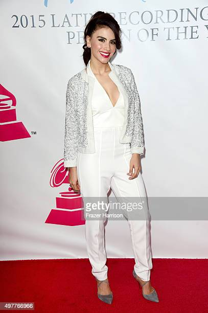 TV personality/model Jessica Cediel attends the 2015 Latin GRAMMY Person of the Year honoring Roberto Carlos at the Mandalay Bay Events Center on...