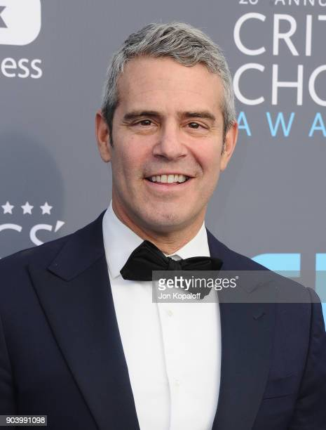 Personality-producer Andy Cohen attends The 23rd Annual Critics' Choice Awards at Barker Hangar on January 11, 2018 in Santa Monica, California.