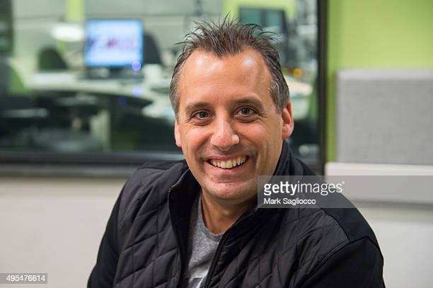 Personality/Producer Joe Gatto visits The Elvis Duran Z100 Morning Show at Z100 Studio on November 3 2015 in New York City