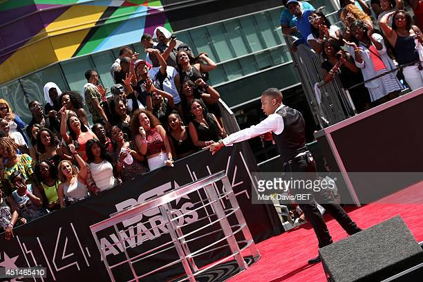 TV personality/rapper Bow Wow attends the BET Awards PreShow during the 2014 BET Experience At LA LIVE on June 29 2014 in Los Angeles California