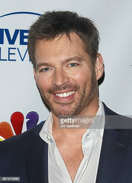 TV personality/singer Harry Connick Jr attends the TV Guide celebrates Mariska Hargitay at Gansevoort Park Avenue on January 11 2017 in New York City