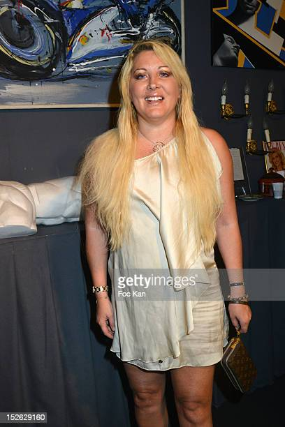 TV personality/singer Loana Petrucciani attends the Antiquites Gallery Dinner as Part Of Biennale Des Antiquaires at Pont Alexandre III on September...
