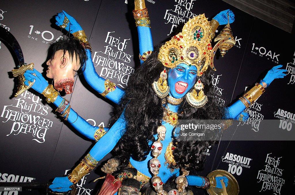 Absolut 100 Presents Heidi Klum's 9th Annual Halloween Party : Fotografía de noticias