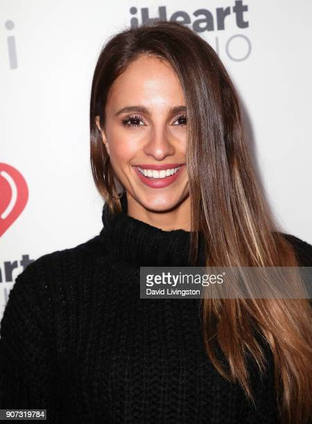 TV personality/teacher Vanessa Grimaldi attends iHeartRadio ALTer EGO at The Forum on January 19 2018 in Inglewood California