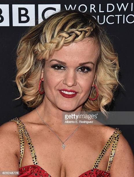 TV personallity Terra Jole attends ABC's 'Dancing With The Stars' Season 23 Finale at The Grove on November 22 2016 in Los Angeles California
