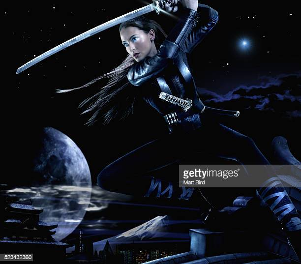 personification of night - warrior person stock pictures, royalty-free photos & images