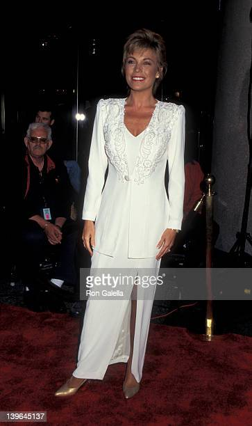Personlity Vanna White attending 22nd Annual Daytime Emmy Awards on May 19 1995 at the Marriot Marquis Hotel in New York City New York