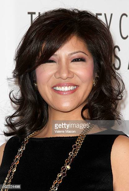 Personnality Julie Chen arrives at The Paley Center For Media Annual Gala Honoring Mary Hart And Al Michaels Salute To Excellence on November 30 2010...