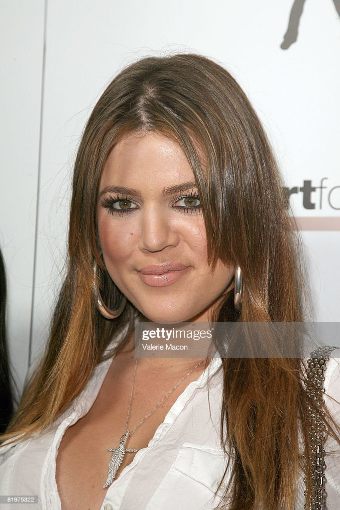TV Personnality Khloe Kardashian attends the 2nd Annual Celebrity Bowling Night held by Matt Leinard on July 17, 2008 in Hollywood, California.