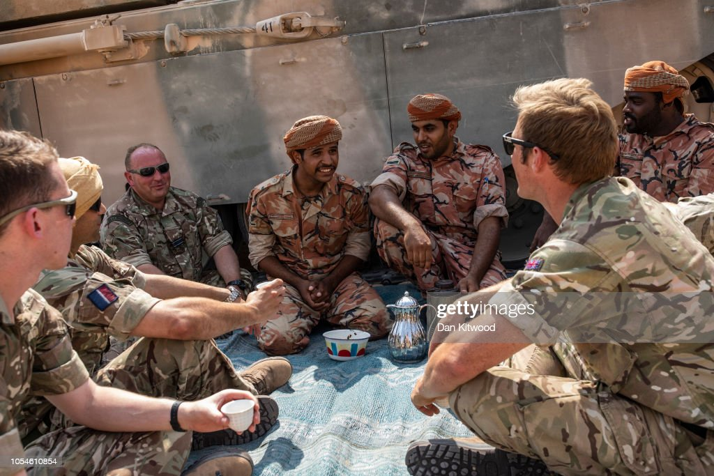 The British Military On A Global Stage : News Photo
