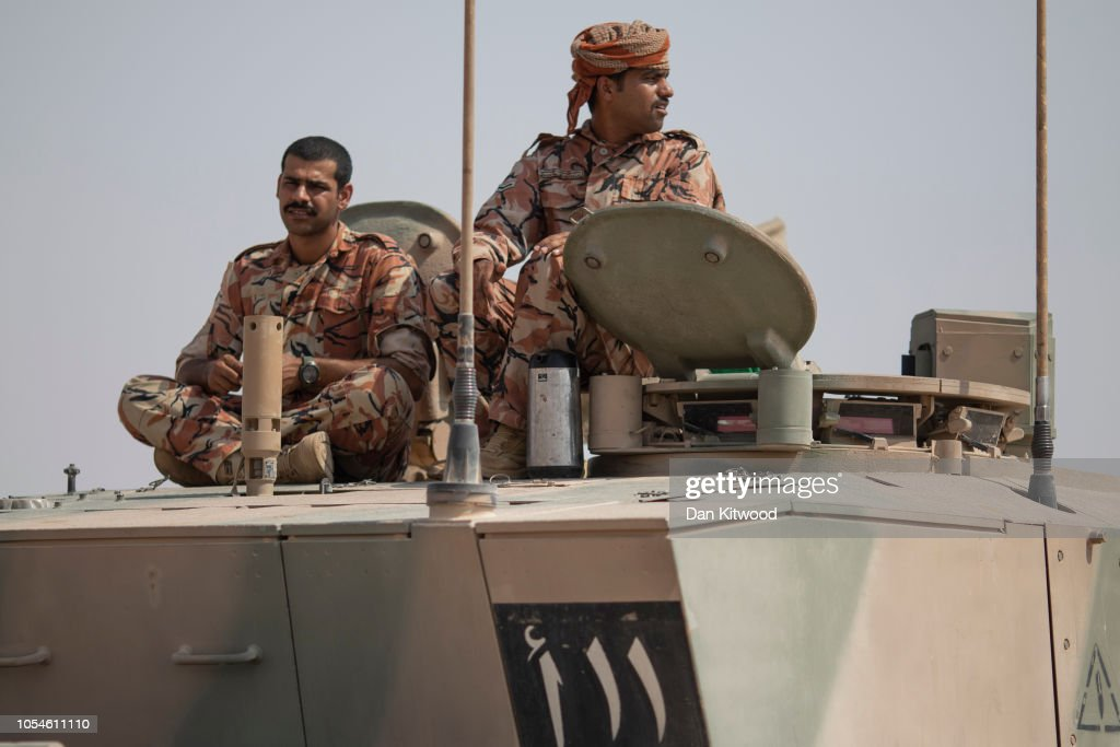 First UK-Oman Joint Military Exercise in 17 years : News Photo