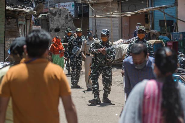 IND: CISF/CRPF Teams Deployed In Coronavirus Hotspots In Mumbai