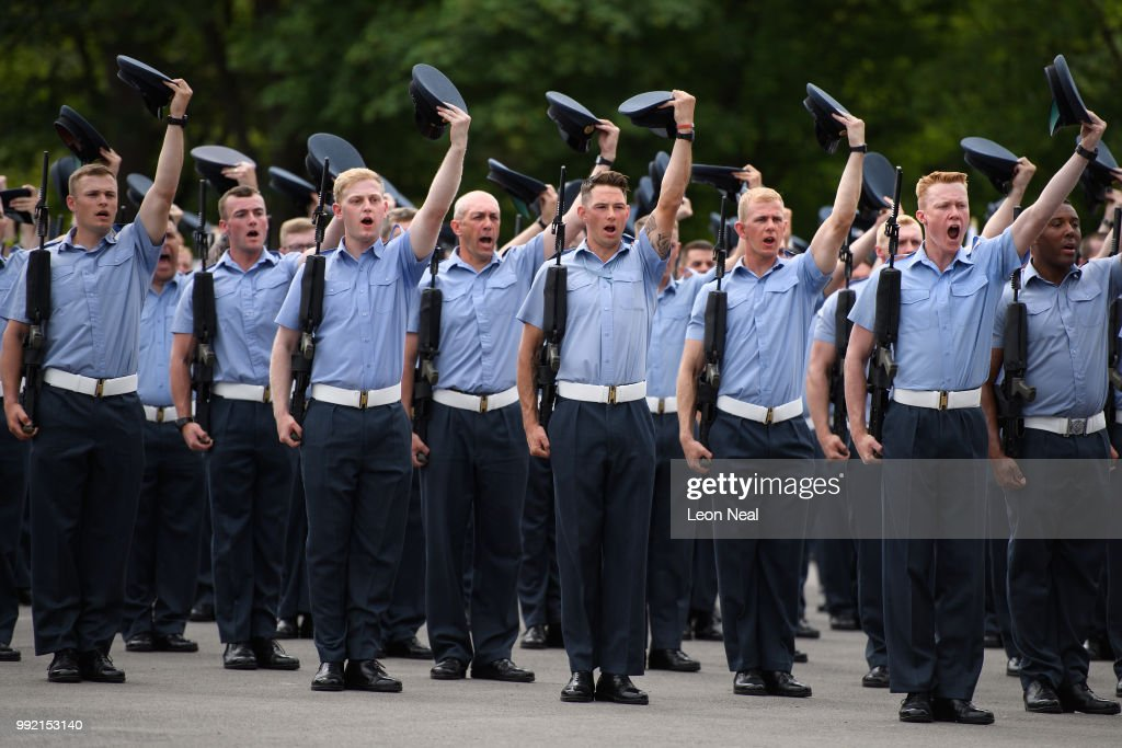 GBR: Rehearsals For Air Force Centenary Takes Place At RAF Halton