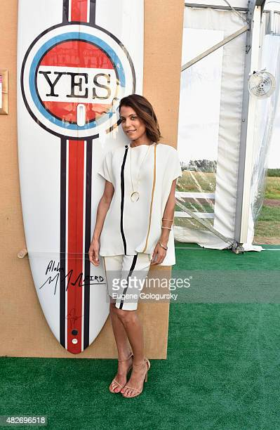 Personoality Bethenny Frankel attends Hamptons Paddle Party for Pink sponsored by New Centrum VitaMints on August 1 2015 in Bridgehampton New York