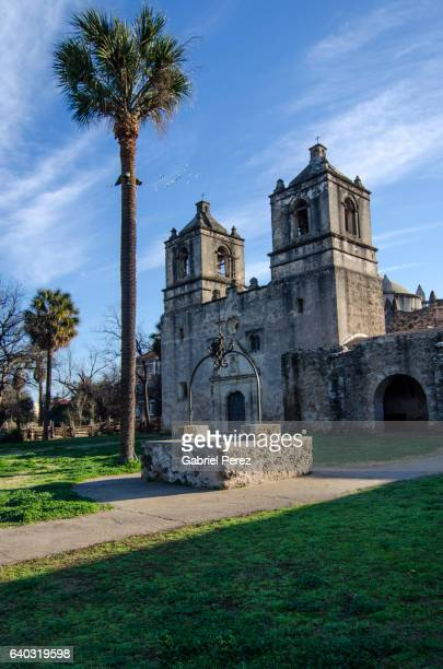 A Perspective View of Mission Concepcion's Wooden Door