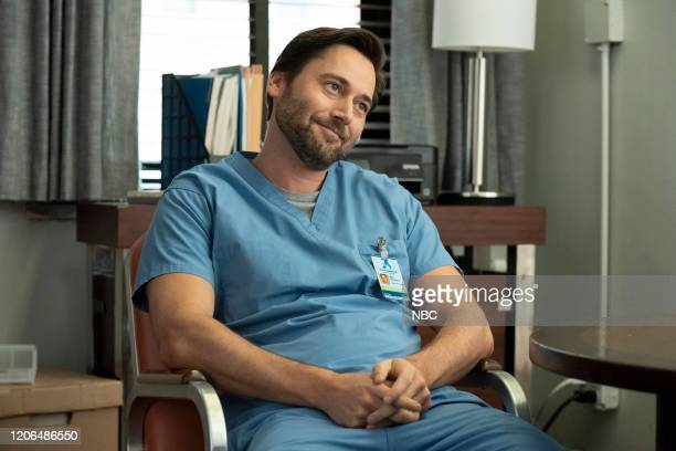 NEW AMSTERDAM Perspectives Episode 216 Pictured Ryan Eggold as Dr Max Goodwin