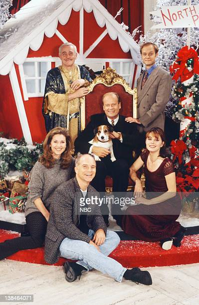 FRASIER Perspectives on Christmas Episode 9 Pictured John Mahoney as Martin Crane David Hyde Pierce as Dr Niles Crane Jane Leeves as Daphne Moon Dan...
