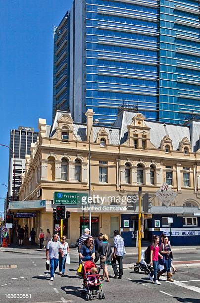 Perth architectural contrasts