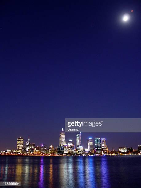 Perth, Australia City Night Shot