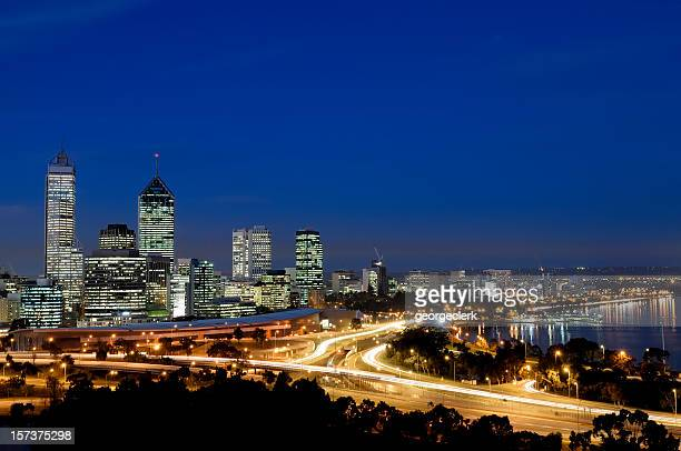 Perth Night Skyline