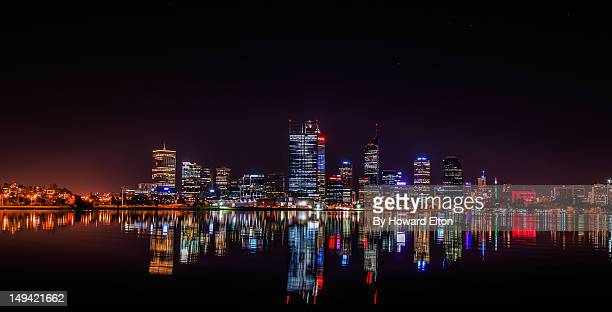 Perth on still winter night