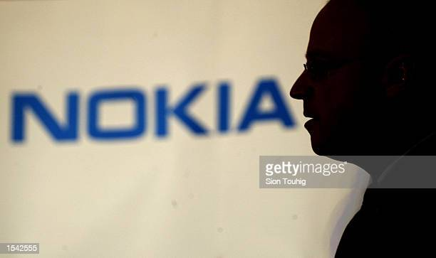 Pertti Korhonen Senior Vice President for Mobile Software at Nokia answers reporters'' questions during the launch of a collaboration with Nokia to...