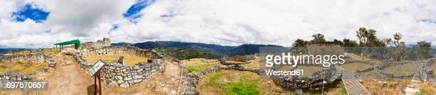 Peru, Amazonas Region, Chachapoyas, ruins of fortress Kuelap