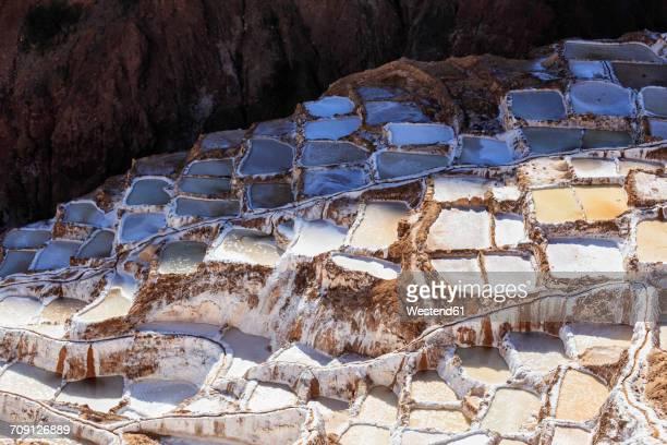 Peru, Andes, Maras, salt ponds